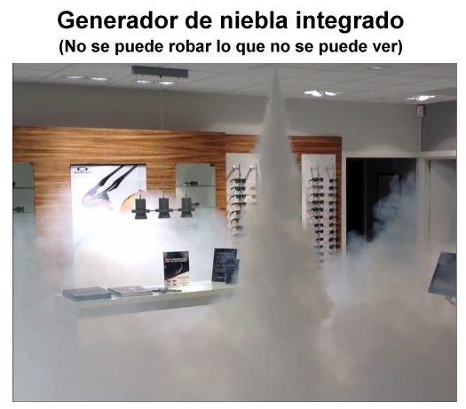 Generador de niebla