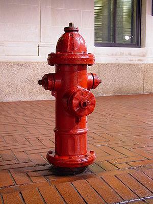 Hidrante de exterior en Sevilla
